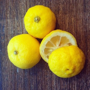 Yuzu: ce fruit qui parfume ma cuisine...